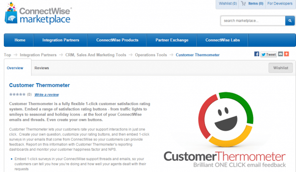 customer survey, Customer Thermometer launches Connectwise customer surveys