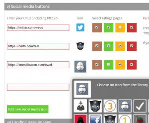 Social media flexibility