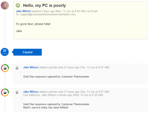 PC Customer support exchange