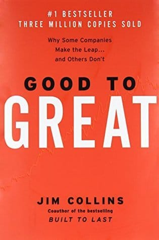 customer success book Jim Collins Good to Great