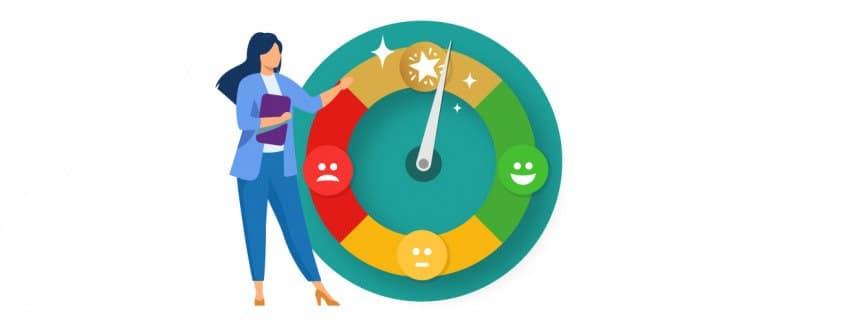 Customer Satisfaction dial
