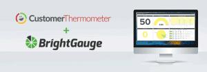 brightgauge and customer thermometer csat surveys