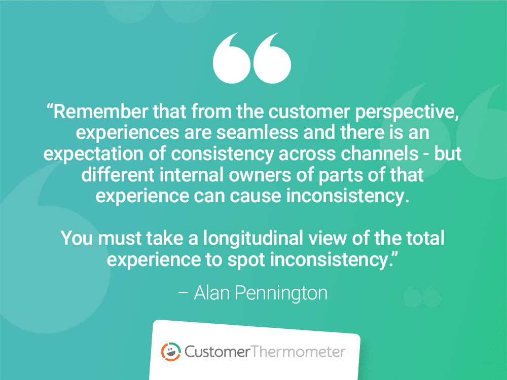 cx alan pennington customer experience quotes thermometer