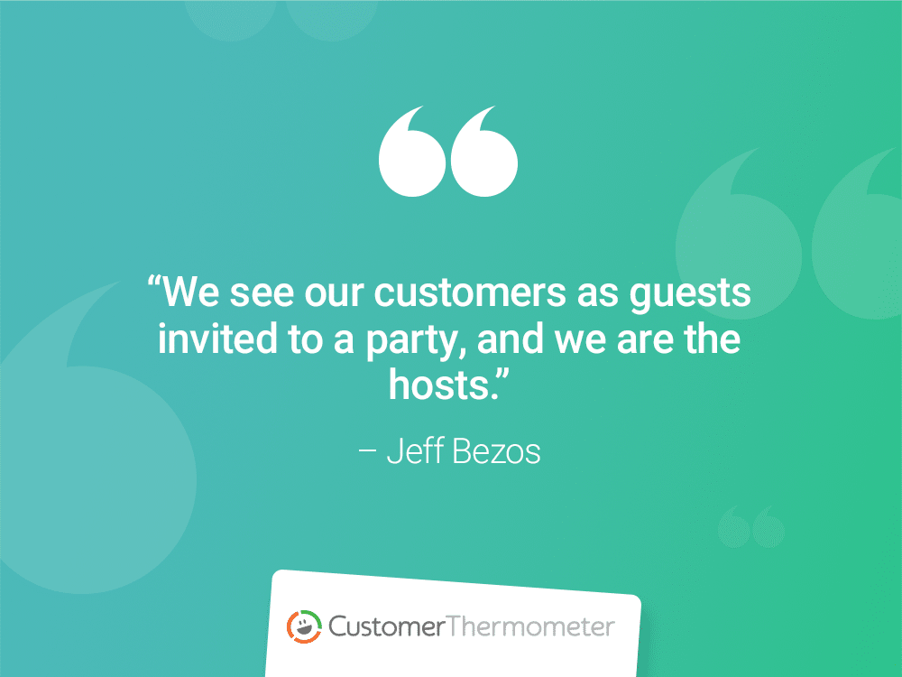 jeff bezos customer success quote