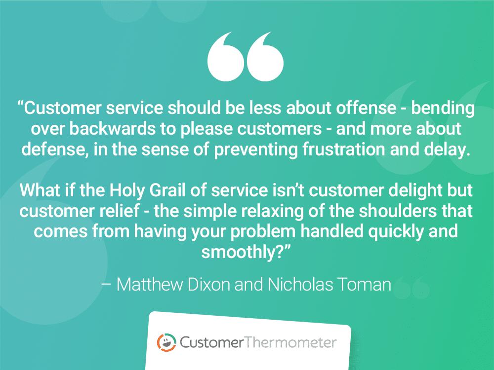 CX Quotes matthew dixon nicholas toman customer thermometer