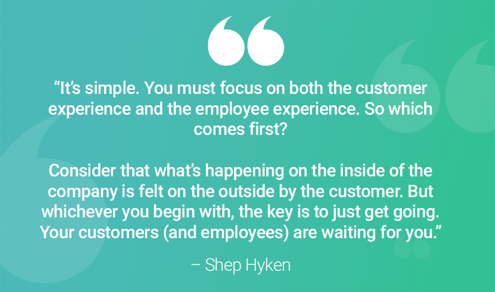 CX Customer Experience Shep Hyken Quote