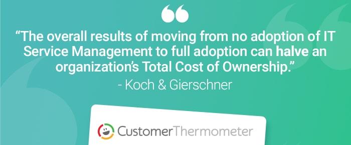 service desk customer thermometer quote koch gierschner