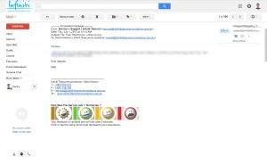 telco customer survey in gmail