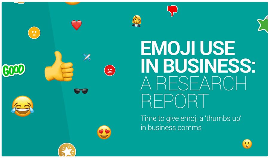 customer thermometer emoji research report button