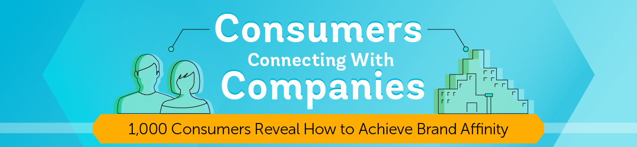 Consumers Connecting With Companies - 1,000 Consumers Reveal How to Achieve Brand Affinity
