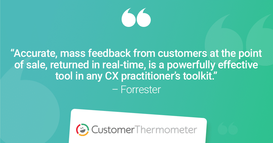 Forrester Customer Experience CX quote Harley Manning Mass Feedback