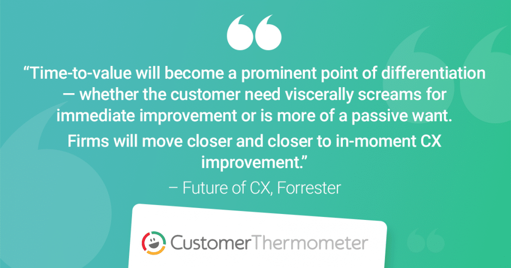 forrester cx quote future of customer experience