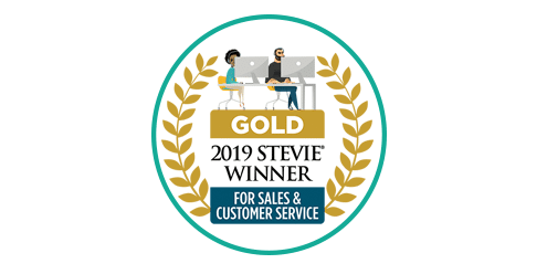Gold Stevie Customer Service 2019