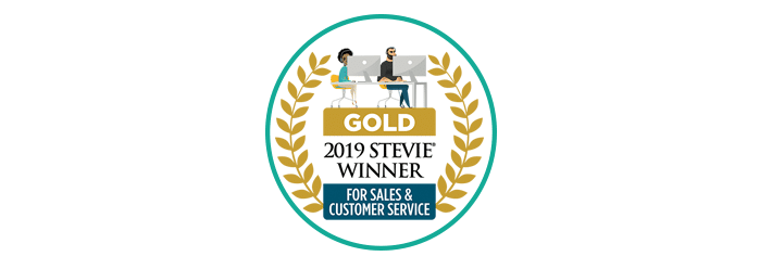 Gold Stevie Customer Service 2019