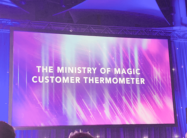 Customer Thermometer BESMA Awards 2019 Ministry of Magic Name