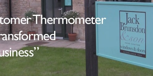 Why Customer Thermometer has transformed this business