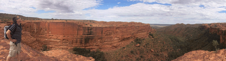 The breathtaking Kings Canyon