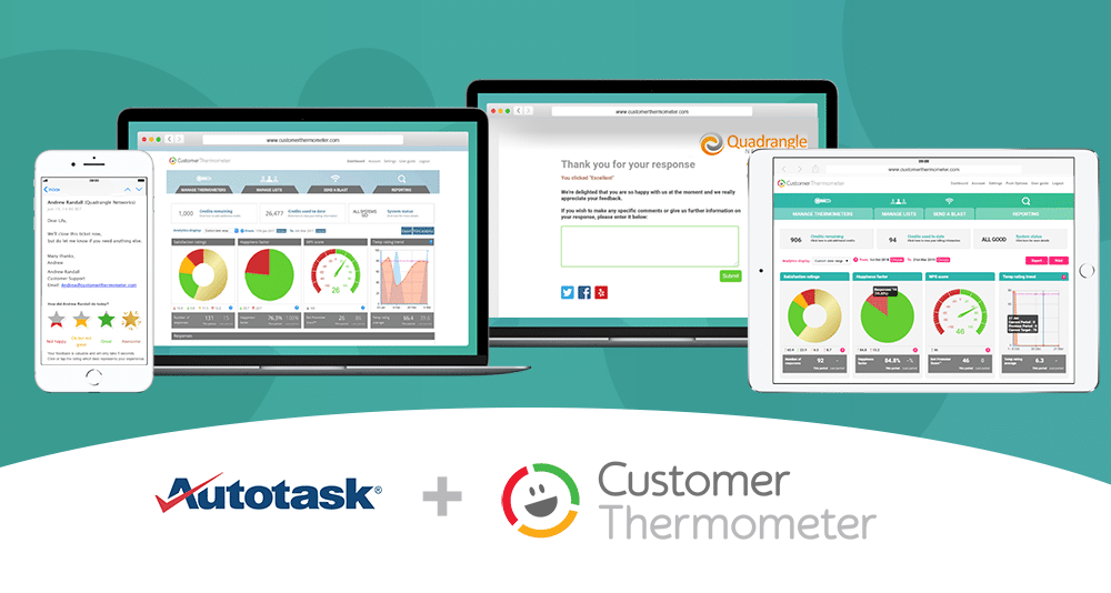 autotask customer thermometer