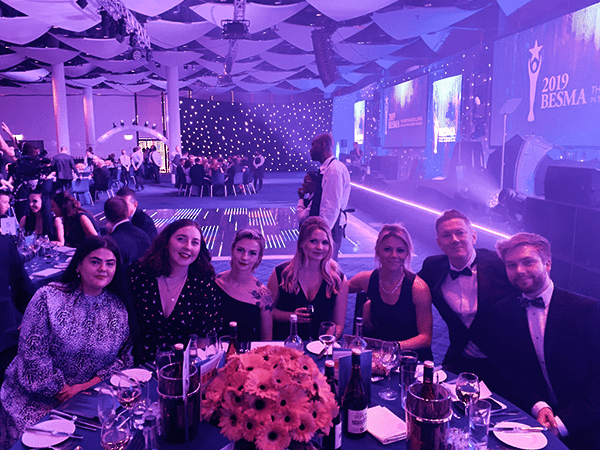 Customer Thermometer BESMA Awards 2019 Ministry of Magic team