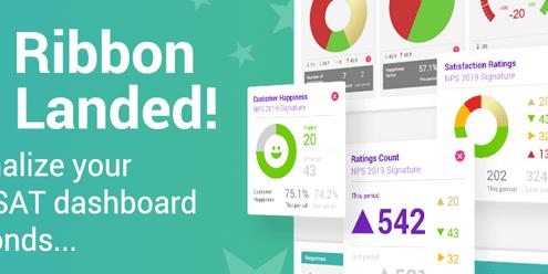 CSAT dashboard customized