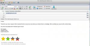 email screnshot