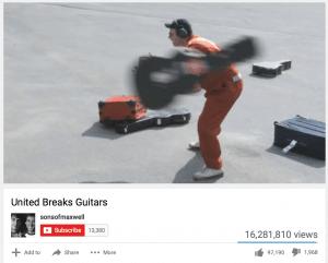 Complaints - United Breaks Guitars