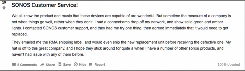 Sonos Reddit