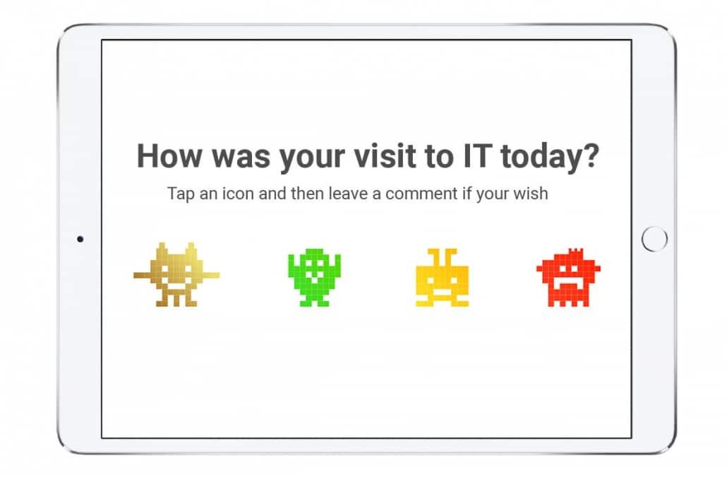 IT satisfaction survey customer centric