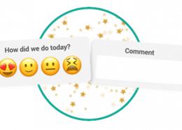 customer thermometer emoji survey smiley face