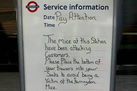 tube station customer service london