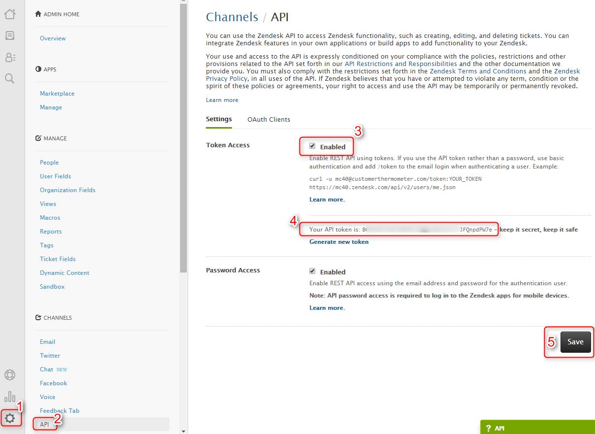 Zendesk API