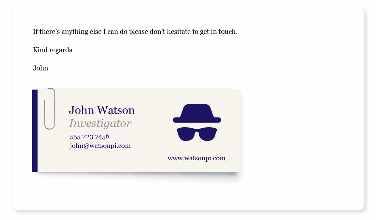 avatar gravitar email signature