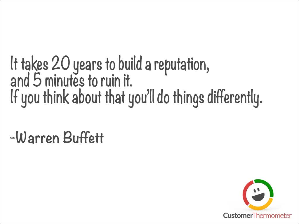 customer service quotes images for your presentation warren buffett customer service quote