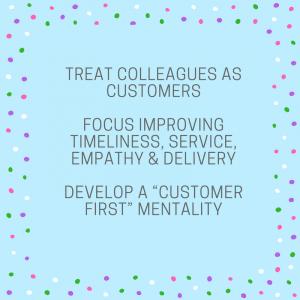 internal customer first