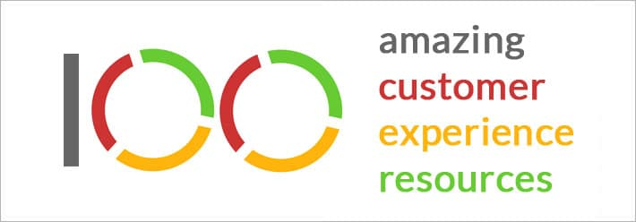 100 amazing customer experience resources