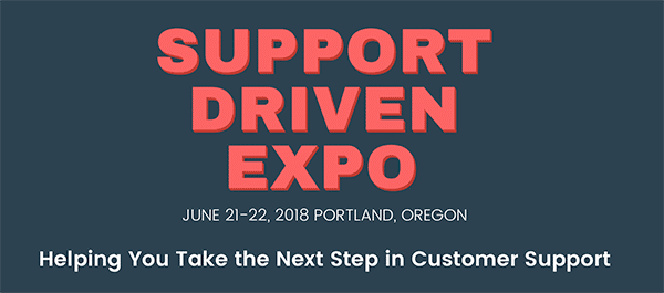 customer service event support driven expo