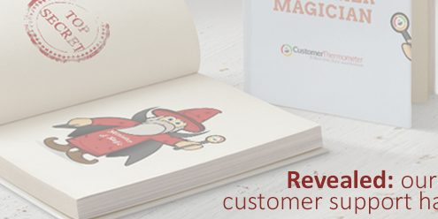 Our customer support handbook revealed