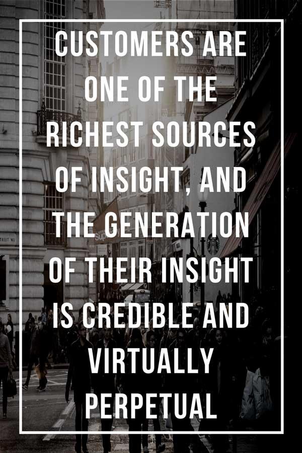 customer source of insight