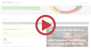 Customer Thermometer 3 min demo