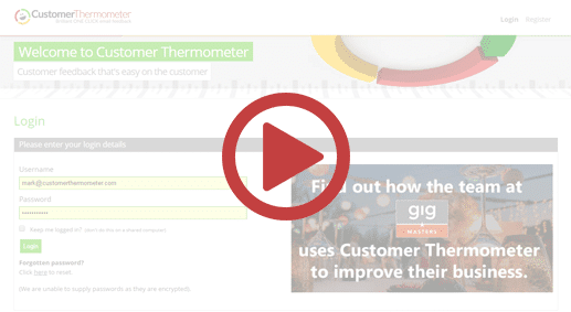 Customer Thermometer 3 min demo