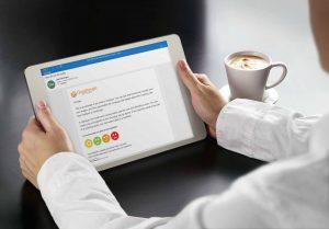 embedded online surveyin ipad
