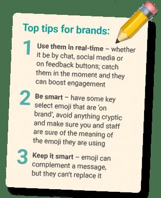 emoji use for brands tips