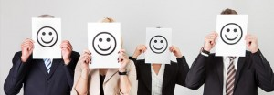 Employees Happy Faces Paper