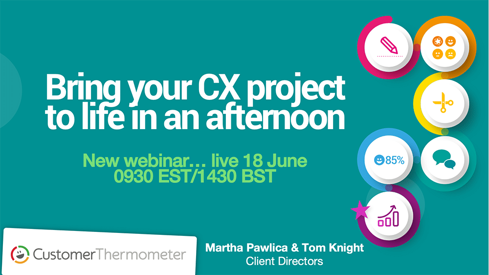 Getting a CX project running quickly