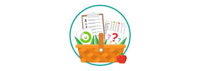 CSAT NPS measures basket