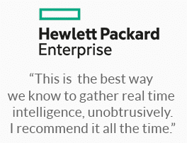HP Enterprise - another happy customer