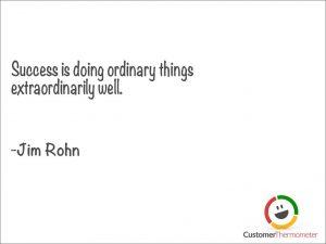 Jim Rohn customer service quote