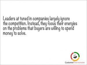 Leadership customer service quote
