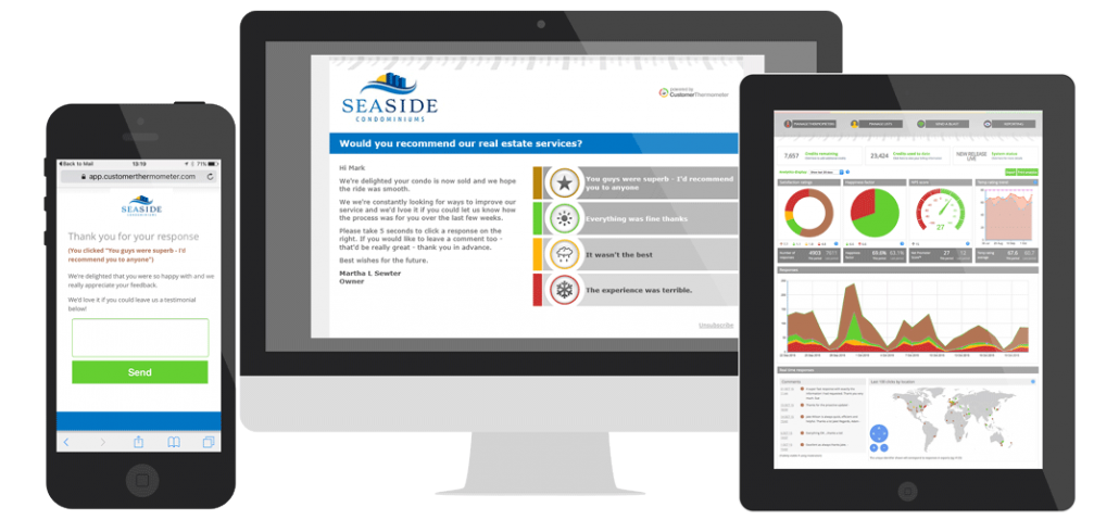 Real estate satisfaction survey