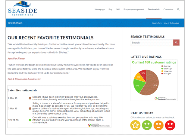 , How to create a powerful testimonials page